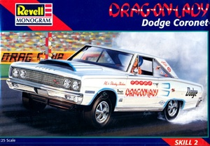 "1967 Dodge Coronet Pro Stocker ""Drag-on- Lady"" Shirley Shahan (1/25) (fs)"
