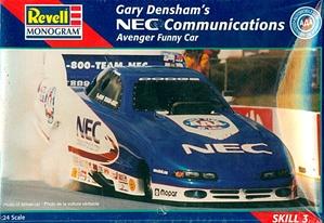 Aftermarket Performance Car Parts >> Gary Densham's NEC Communications Dodge Avenger Funny Car ...