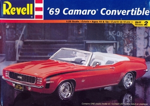 1969 Chevy Camaro Convertible (1/25) (fs)