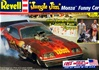1976 Jungle Jim Monza Funny Car with Jim & Pam Figures (1/25) (fs)