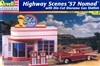 1957 Nomad with Die-Cut Diorama Gas Station (1/24) (fs)