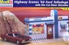 1969 Ford Talledega with Die-Cut Diner Diorama (1/24) (fs)