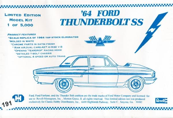 1964 Ford Thunderbolt SS (1 of 5000) (1/25) (fs)
