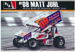 "Matt Juhl #09 ""State Bank of Fairmont"" Sprint Car  (1/24) (fs)"