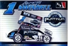 "Sammy Swindell #1 ""Rossie Feed & Grain"" Sprint Car  (1/24) (fs)"