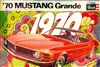 1970 Ford Mustang Grande (6 'n 1) Hardtop, Convertible, Showroom, Street Modified or Drag (1/25)