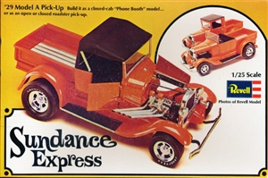 1929 Ford Model A Pickup 'Sundance Express' (3 'n 1) Phone Booth and Open or Closed Roadster (1/25) (fs)
