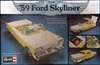 1959 Ford Galaxy Skyliner with Figures (1/25) (fs)