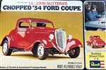 1934 Ford 'Lil' John Buttera's' Chopped Coup (1/25) (fs)