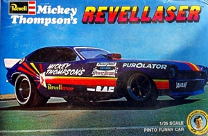 1972 Ford Pinto Mickey Thompson's 'Revellaser' Funny Car (1/25) (fs)
