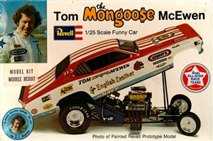 "1972-74 Dodge Demon Tom McEwen ""Mongoose"" English Leather Funny Car (1/25)"