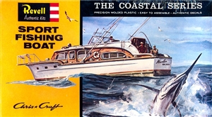 Chris-Craft Sport Fishing Boat 'Costal Series' (1/54) (fs)