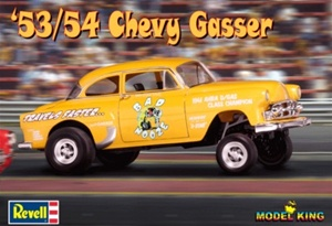 1954 1953/54 Chevy Gasser Model King Private Reissue (1 of 3000) (1/25) (fs)