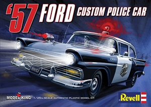 1957 Ford Police Car (Private Production) (1 of 3000) (1/25) (fs)