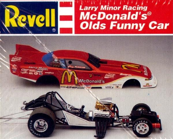 The New Dodge Demon >> 1993 McDonald's Oldsmobile Funny car (1/25) (fs)