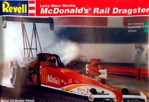 1992 McDonald's Rail Dragster (1/25) (fs)
