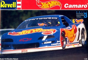 "1993 ""Hot Wheels"" Chevy Camaro '1992 SCCA Trans Am Champion' (1/25) (fs)"