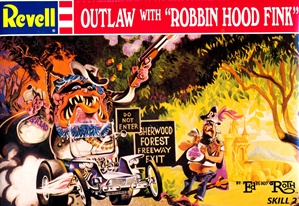 "Outlaw with ""Robbin Hood Fink"" designed by Ed Roth (fs)"