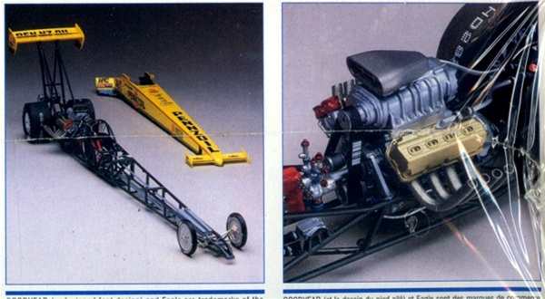 1996 Eddie Hill S Pennzoil Top Fuel Dragster 1 25 Fs