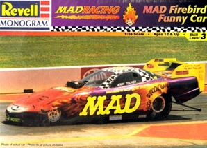 1998 Mad Magazine Pontiac Firebird Funny Car (1/25) (fs)