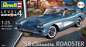"1958 Corvette Roadster (1/25) (fs) <br><span style=""color: rgb(255, 0, 0);"">Just Arrived</span>"