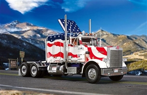 Marmon (Peterbilt 359) Conventional Stars and Stripes (1/25) (fs)