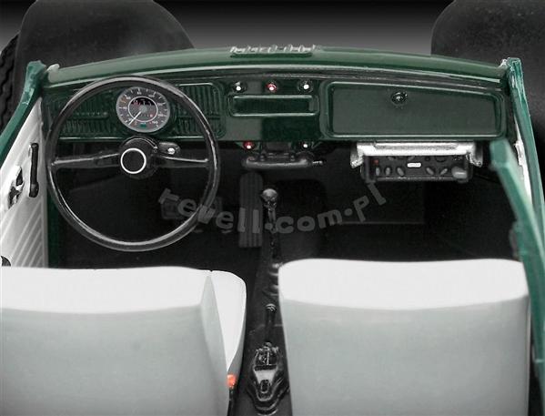 Volkswagen VW Beetle Police Car (1/24) (fs)