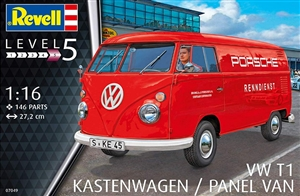 "VW T1 Kastenwagen Porsche Panel Van (1/16) (fs) <br><span style=""color: rgb(255, 0, 0);"">Just Arrived</span>"