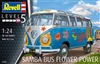 "VW Samba Bus T1 ""Flower Power"" (1/24) (fs)"