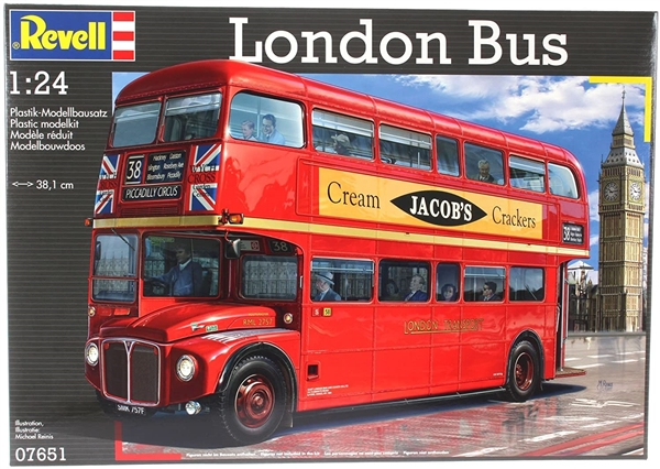 1954 AEC Routemaster London Double Decker Bus (Revell of Germany) (1/24)  (fs)
