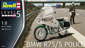 "BMW R75/5 Police Motorcycle (1/8) (fs) <br><span style=""color: rgb(255, 0, 0);"">Just Arrived</span>"