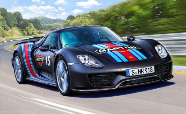 Porsche 918 Spyder Weissach Sport Version 1 24 Fs