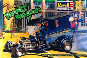 Paddy Wagon by Tom Daniel with Fully Painted Figures (1/24) (fs)