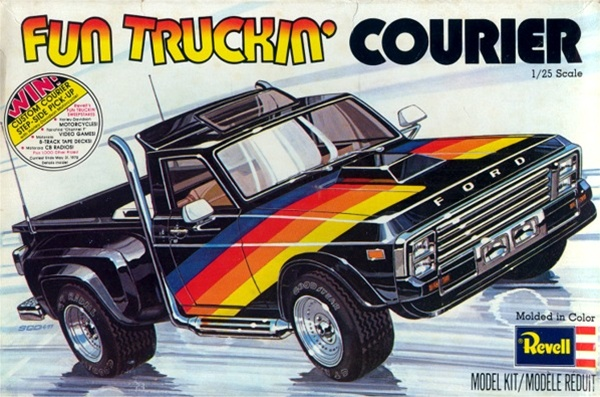 Image result for revell fun truckin courier