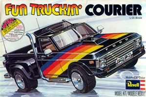 "1977 Ford Courier Stepside Pickup ""Fun Truckin"" (1/25) (fs)"