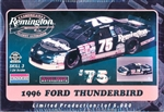1996  Ford Thunderbird #75 Remington Morgan Shepherd (1/24) (fs)