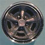 Pontiac Rallye II Wheels with Chrome Trim Ring (Set of 4) (1/25) (fs)