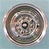 Steel Wheels Chrome Plated (Set of 4) (1/25) (fs)