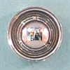 Steel Wheels with Baby Moons Chrome Plated (Set of 4) (1/25) (fs)