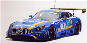 2016 Mercedes Benz AMG GT3 'Team Black Falcon' #9 24H Nürburgring (1/18) (fs)