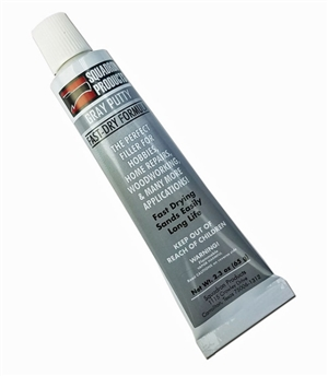Squadron 2.3 oz Gray Plastic Contour Putty