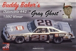"1977 Oldsmobile ""Buddy Baker's NAPA Gray Ghost Cutlass # 28"" (1/25) (fs) <br><span style=""color: rgb(255, 0, 0);"">Just Arrived</span>"