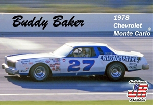 "1978 ""Ontario"" Chevy Buddy Baker's ""Circus Circus"" #27 Monte Carlo ""Square Headlights"" (1/25) (fs)"