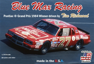 "Blue Max Racing ""Old Milwaukee"" 1984 Pontiac Grand Prix Winner # 27 driven by Tim Richmond (1/24) (fs) <br><span style=""color: rgb(255, 0, 0);""> Just Arrived</span>"