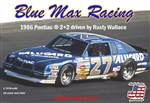 "Blue Max Racing 1986 ""Alugard"" Pontiac  2+2 #27 Driven by Rusty Wallace (1/24) (fs) <br><span style=""color: rgb(255, 0, 0);"">Just Arrived</span>"