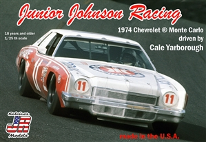 "1974 ""Kar Kare"" Chevrolet Monte Carlo # 11 Driven By Cale Yarborough (1/25) (fs)"