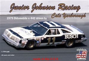 "Junior Johnson Racing 1979 ""Busch"" Oldsmobile 442 Driven By Cale Yarborough (1/25) (fs) Damaged Box"