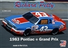 "Richard Petty 1983 ""STP"" Pontiac Grand Prix # 43 (1/25) (fs) <br><span style=""color: rgb(255, 0, 0);"">February, 2020</span>"