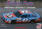 "Richard Petty's 1986 Pontiac Grand Prix 2+2 Aerocoupe #43 (1/24) (fs) <br><span style=""color: rgb(255, 0, 0);"">Just Arrived</span>"