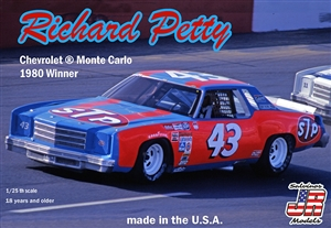 "Richard Petty Chevy Monte Carlo ""STP  # 43"" 1980 ""Nashville"" Winner (1/25) (fs)"